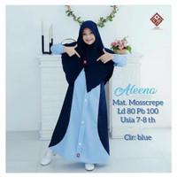 Baju gamis anak Busana muslim anak Dress anak Fashion anak perempuan