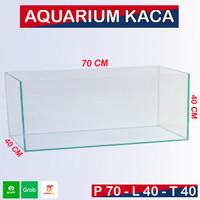 Aquarium 70x40x40 Aquarium ikan / Aquarium Besar / Aquarium Ikan Besar