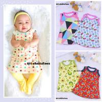 Daster Yukensi Bayi uk 0-12 month / Dress Bayi Baju Bayi Kaos Daster /