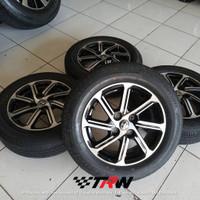 Velg Peleg mobil seken original Toyota Calya Ring 14 ban Bridgestone