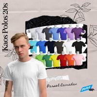 Parsel Ramadan Kaos Pria Polos Oneck Super Cotton 20s