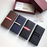 Dompet BALLY Baliro Leather Continental Long Wallet 100% ORIGINAL