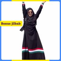 Gamis Palestina Dress / Baju Muslim Wanita Terbaru