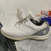 Sepatu golf footjoy fj arch white size 45/10.5