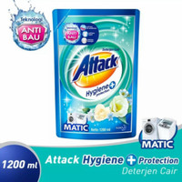 Attack Deterjen Cair Hygiene Matic 1200ml