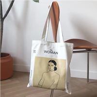 TAS KANVAS KOREA Independent - Tote Bag Wanita
