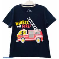Baju Anak Laki-Laki Mobil Pemadam - 1thn