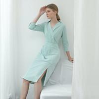 SAIA Gazelle Dress Green