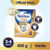 Nutrilon Royal 4 Susu Pertumbuhan 3-6 Thn Vanila 400gr