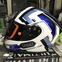 Helm INK CL max Repaint SHOEI ( paket ganteng )