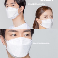 Masker KF94 3D Evo Stereoscopic Fish Medical Grade kn95