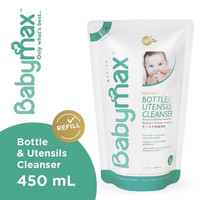 Babymax Baby Max Baby-Safe Cleanser Bottle and Utensils 450ml 450 ml