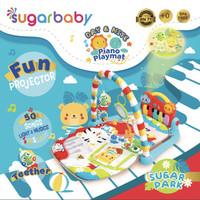 Sugar Baby [Day and Nite] Piano Playmat / Alas Main Bayi - Green