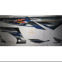 Lis Body-Stiker-Striping Supra X 125 R PGM-FI 2005-2006 Biru Ori AHM