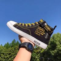 Sepatu Sneakers Pria Fashion Casual Harajuku Style High Import Premium