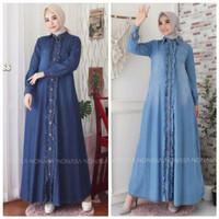 Gamis Jeans Hanun / Dress / Baju Muslim