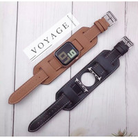 Apple Watch Band Hermes Double Leather Iwatch Strap Kulit 38mm 42mm