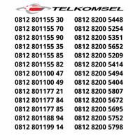 Kartu Perdana Nomor Cantik Simpati Telkomsel Rapih Manis