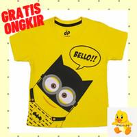 Kaos Baju Anak Lengan Pendek Motif Batman Minion 1 - 10 Tahun - 1-2 tahun