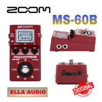zoom ms 60b multi efek gitar bass