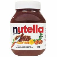 Selai Nutella spread 1 kg Nutella 1000 gram khusus gojek/grab