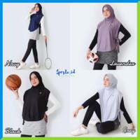 Hijab Sport Olahraga Rompi Vest List Tali