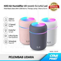 Pelembab Udara H2O Air Humidifier Ultrasonic Aroma Therapy Diffuser
