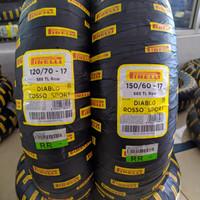 Paket Ban Pirelli Diablo Rosso Sport 120/70 & 150/60-17