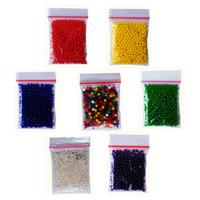 Waterbeads | Water Beads | Orbeez | Hidrogel | Hydrogel | Crystal Ball - Merah, 10 gr