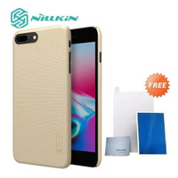 Nillkin Frosted Case Apple iPhone 7 Plus & 8 Plus Gold & Screen Guard