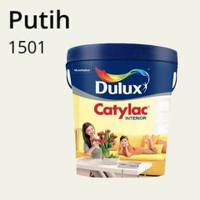 CAT INTERIOR DULUX CATYLAC INTERIOR PUTIH 1501 - 5 KG