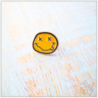 Bros Pin Enamel Desain Nirvana Band Punk Rock Untuk Tas Ransel