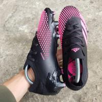 Soccer Adidas Predator Mutator 20.1 LOW FG - Black Fluro Pink Ukuran