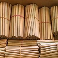 sedotan bambu original panjang 30cm, Diameter1,5cm