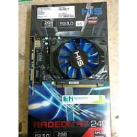 Vga Card His Ati Radeon R7 240, 2 Gb Ddr3 128 Bit Pci E Blackmoon221