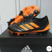 Sepatu Bola Adidas Copa 20.1 Fg Black Orange Premium Original