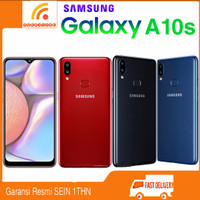 SAMSUNG GALAXY A10s Ram 2/32GB Garansi Resmi SEIN