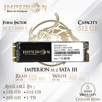 SSD M2 SATA M.2 SATA III 2280 512 GB IMPERION GARANSI RESMI SSD 512GB