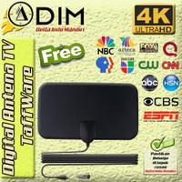 TAFFWARE ANTENA TV DIGITAL bisa untuk tv tabung led lcd indoor terbaik