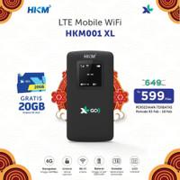 Mifi Modem Wifi 4G Huawei E5573 XL Go Free 60Gb 60Hari [BEST SELLER] - Hitam