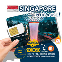 60 days 500GB 4G+ Singapore simcard , STARHUB / M1 Singapore sim card