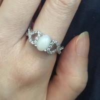 cincin opal wanita -aroa-
