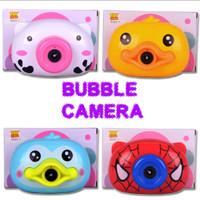 Bubble Camera Mainan Kamera Gelembung Sabun Balon Elektrik Musik Lampu