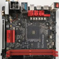 Mobo Motherboard ASRock AB350 ITX/ac AMD AM4 DDR4
