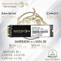 SSD M2 SATA M.2 SATA III 2280 128 GB IMPERION GARANSI RESMI SSD 128GB