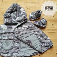 Paket Hemat Murah Jaket Kaos Kaki Sepatu Bayi Bundling Babycape Boties