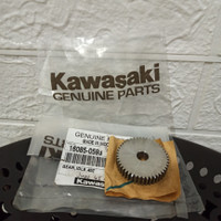 Gear Gigi Stater Idle 45T EDGE KAZE ZX130 16085-0593 Original Kawasaki