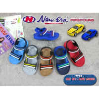 Sandal Sendal Ankle Strap Anak Laki-laki New Era Profound Size 19-24