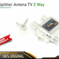 Splitter Taikin antena TV 2 way / Splitter Antena Signal TV 2way