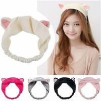 Bandana Kucing Headband Kucing Import Korea Bando Masker Bando Kucing